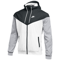 Nike Team NSW Windrunner Jacket - Men's - Black / White