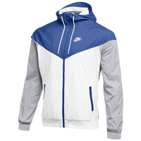 Nike Team NSW Windrunner Jacket - Men's - Blue / White