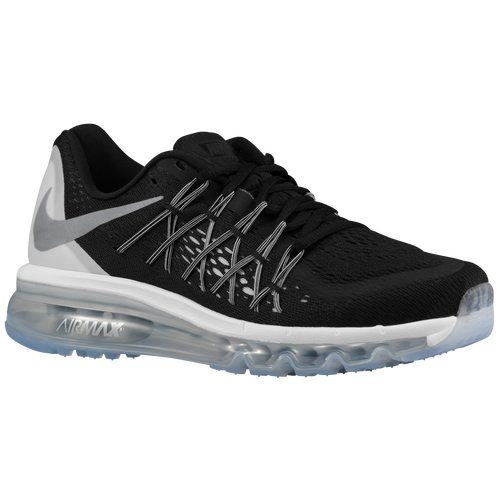 Nike Air Max 2015 - Women's - Running - Shoes - Black/Reflective  Silver/White/Summit White