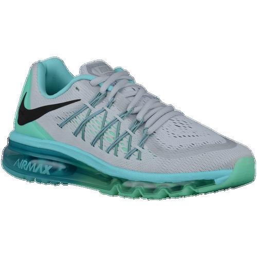 Nike Air Max 2015 - Women's - Running - Shoes - Pure Platinum/Green  Glow/Light Aqua/Black