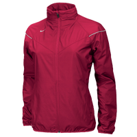 Nike Team Stormfit Woven Jacket - Women's - Red / Red