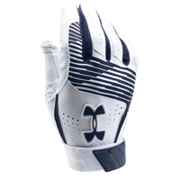 Under Armour Clean-up Batting Gloves - Men's - Navy / White