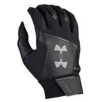 Under Armour Yard Batting Gloves - Men's - Black / Black