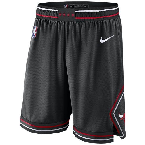 Nike NBA Swingman Shorts - Men\u0027s - Chicago Bulls - Black / Red