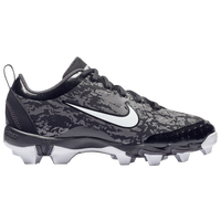 Nike Hyperdiamond 2.5 Keystone - Girls' Grade School - Grey / Black