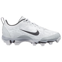 Nike Hyperdiamond 2.5 Keystone - Girls' Grade School - White / Grey