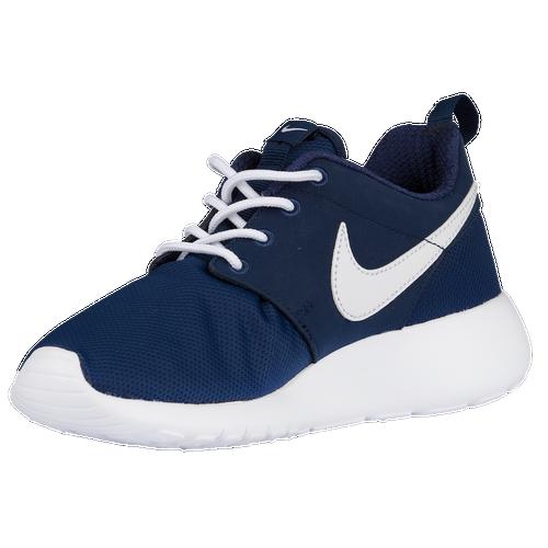 cf9603fd01f3 ... Nike Roshe One - Boys Grade School - Casual - Shoes - Midnight  NavyWhite ...