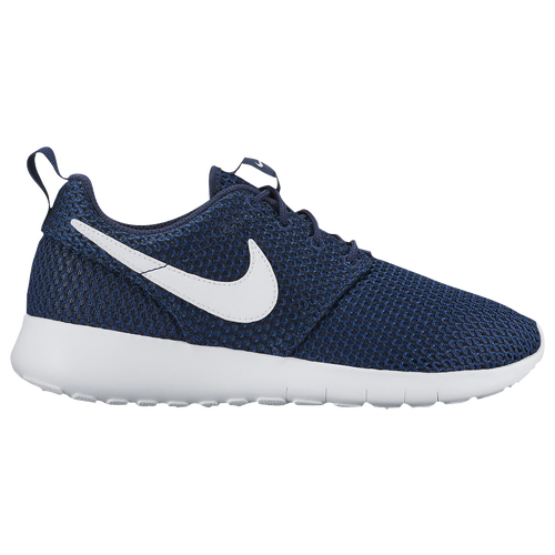 Nike Roshe One - Boys' Grade School - Casual - Shoes - Midnight  Navy/White/Gym Blue/Black