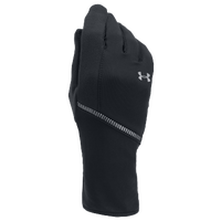 Under Armour ColdGear Infrared Run Liner Gloves - Women's - Black / Black