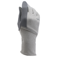 Under Armour ColdGear Infrared Run Liner Gloves - Women's - Grey / Grey