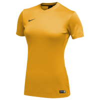 Nike Team Dry Park VI Jersey - Women's - Gold / Black