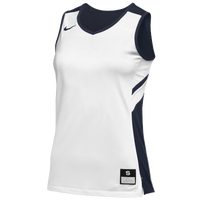 Nike Team Reversible Game Jersey - Women's - White / Navy