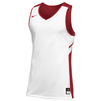 Nike Team Reversible Game Jersey - Men's - White / Red