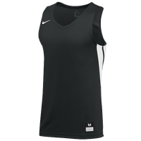 Nike Team National Jersey - Boys' Grade School - Black / White