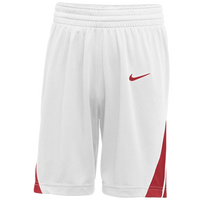 Nike Team National Shorts - Boys' Grade School - White / Red