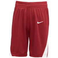 Nike Team National Shorts - Boys' Grade School - Red / White