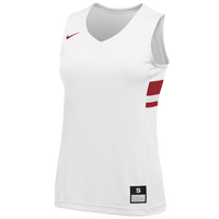 Nike Team National Jersey - Girls' Grade School - White / Red