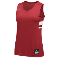 Nike Team National Jersey - Girls' Grade School - Red / White