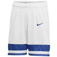 Nike Team National Shorts - Girls' Grade School - White / Blue