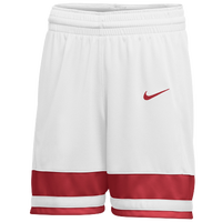 Nike Team National Shorts - Girls' Grade School - White / Red