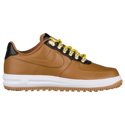 Nike Lunar Force 1 Duckboot Low Men's Lifestyle Shoes Brown/Black/White kS6694P