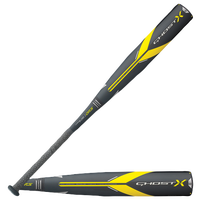Easton Ghost X USA Baseball Bat - Grade School - Black / Yellow
