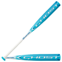 Easton Ghost Fastpitch Bat - Girls' Grade School - Light Blue / White