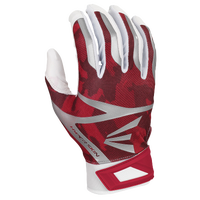 Easton Z7 Hyperskin Batting Gloves - Men's - Red / White