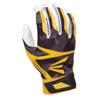 Easton Z7 Hyperskin Batting Gloves - Men's - Black / Gold