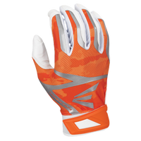 Easton Z7 Hyperskin Batting Gloves - Men's - Orange / White