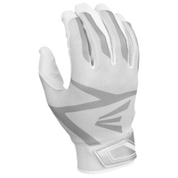 Easton Z3 Hyperskin Batting Gloves - Boys' Grade School - White / Grey