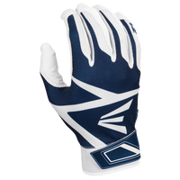 Easton Z3 Hyperskin Batting Gloves - Boys' Grade School - White / Navy