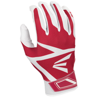Easton Z3 Hyperskin Batting Gloves - Boys' Grade School - White / Red