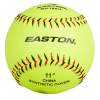 Easton Team Soft Touch Training Softballs - Men's - Light Green / Red