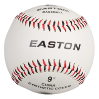 Easton Team Soft Touch Training Baseball - Men's - White / Black