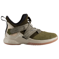 Nike LeBron Soldier XII - Boys' Grade School -  Lebron James - Olive Green / Off-White