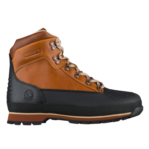 Timberland Euro Hiker Shell Toe Boots - Men's - Casual - Shoes - Burnt  Orange
