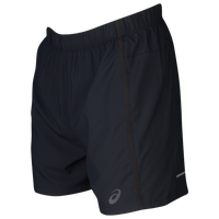 "ASICS® 5"" Shorts - Men's - All Black / Black"