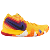 Nike Kyrie 4 - Boys' Grade School -  Kyrie Irving - Yellow / Multicolor