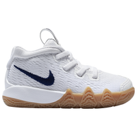 Nike Kyrie 4 - Boys' Toddler -  Kyrie Irving - White