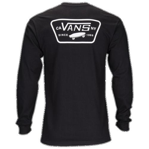 Vans Full Patch Back Long Sleeve T-Shirt - Men's - Skate ...
