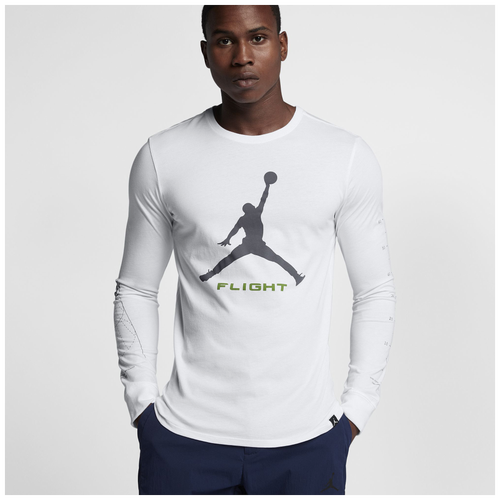Jordan retro 13 altitude long sleeve t shirt men 39 s for Retro long sleeve t shirts
