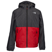 The North Face Warm Storm Jacket - Boys' Grade School - Grey / Red