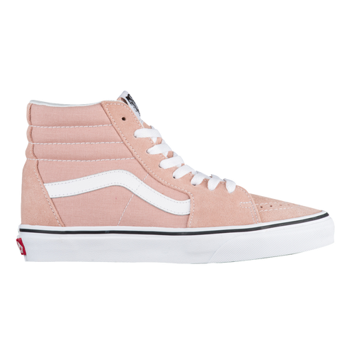 Vans SK8-Hi - Womenu0026#39;s - Casual - Shoes - Mahogany Rose/True White