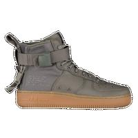 nike air force 1 metà donne sf occasionale scarpe buio di stucco