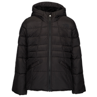 The North Face Moondoggy 2.0 Down Hooded Jacket - Girls' Grade School - All Black / Black