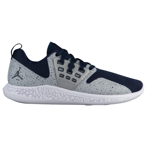 Jordan Lunar Grind - Men\u0027s - Training - Shoes - College Navy/Wolf Grey/White