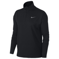 Nike Element 1/2 Zip Top - Women's - Black / Black