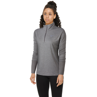 Nike Element 1/2 Zip Top - Women's - Grey / Grey