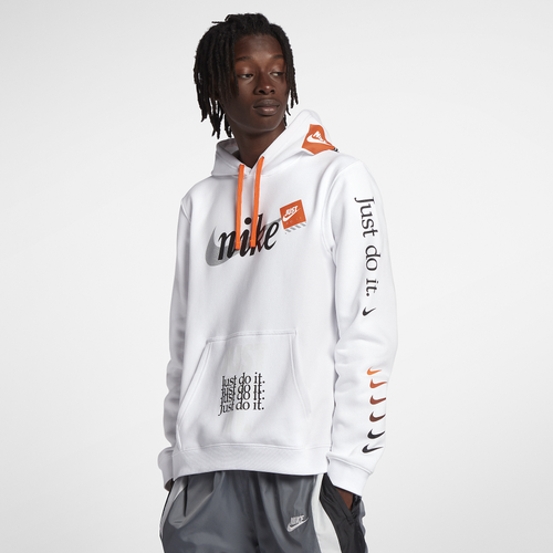 Nike Jdi Club Pullover Hoodie Men S Casual Clothing